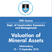 Valuation of Mineral Assets (JHB)