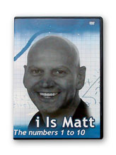 i Is Matt - The numbers 1 to 10